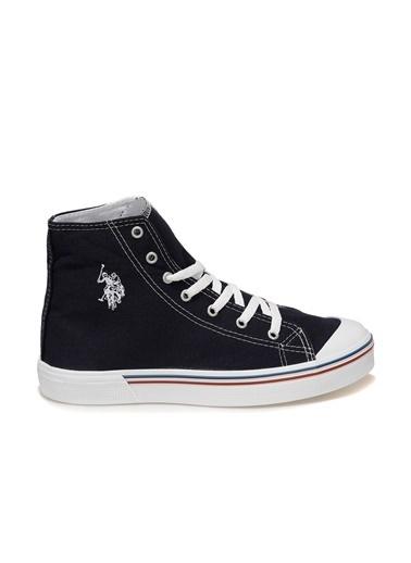 U.S. Polo Assn. Penelope High 1Fx Erkek Sneaker Lacivert